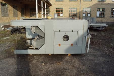 Filtermaschine 127x128x260 cm