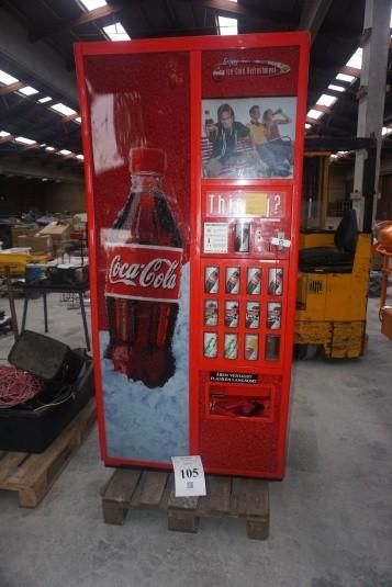 Sodavands automat 93x87x190 cm