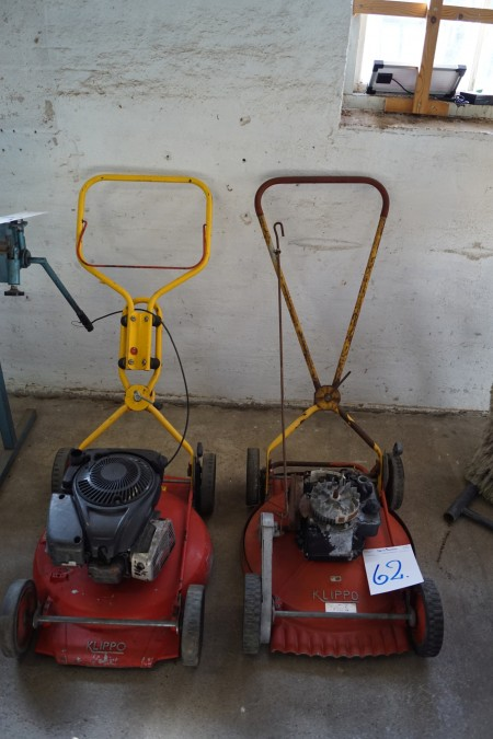 Lawnmower 2 pcs brand clipo not tested