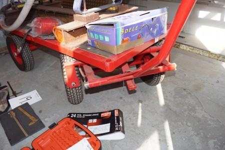 Randersbør transportvogn 150 x 70 cm