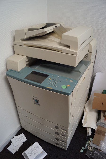 CANNON A3 printer CLC2620, virker + farve patroner