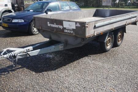 Brenderup trailer 310x175 cm. Reg.nr: MC 5980. Stelnr.: UH20007706N902572. Første reg.: 27-12-2005. Med papirer.