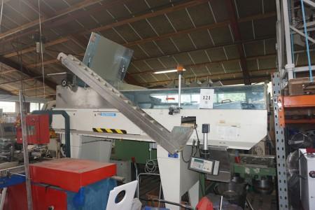 Hachmang tællemaskine. Med vægtdosering. Type: HA 8005 MCI. 5 tællingsrender. Længde: 315cm, bredde: 110cm, højde: 260cm.