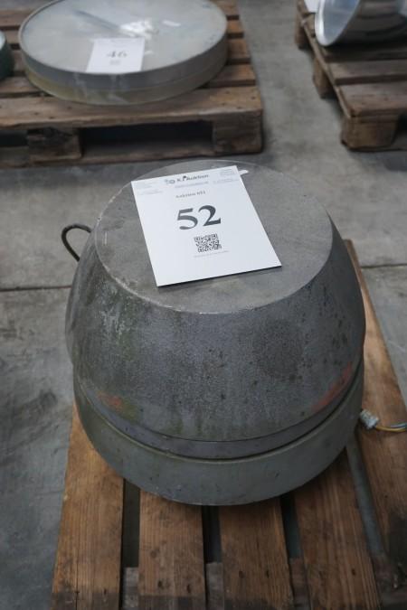 Udsugningsmotor . Type DT250-4. odr/m: 1400