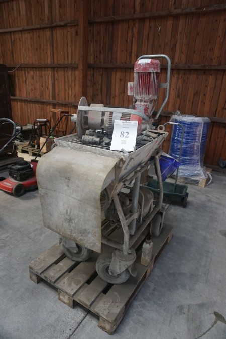 Mixer pump brand Weber optiroc 8520 condition unknown.