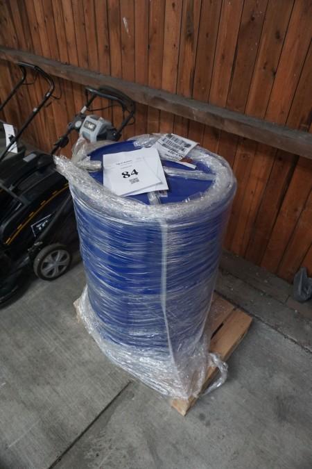 125 liter cellulose fortynder cirka 1/8 del fyldt.