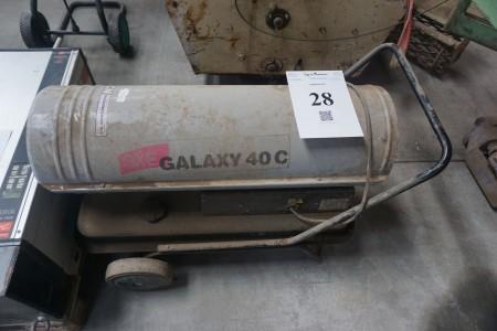 Varmekanon. Galaxy 40C. 230 V. Diesel. 380 W. IPX4D.