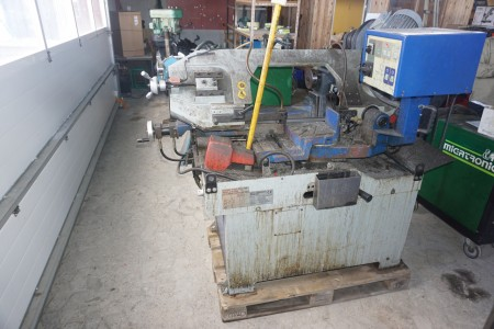Metal båndssavs automat. Mærke Lupin 350x220 mm