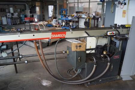 SAMECA MOMOSAM 65 Bar Feed Type: SAM65 vintage 1989 manuals included