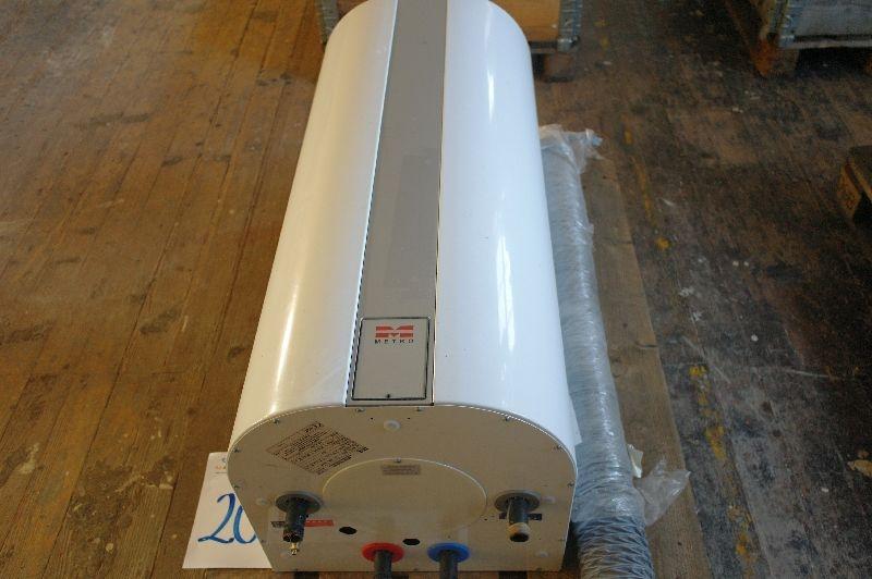 Moderne EL- vandvarmer, Metro. 110 liter. - KJ Auktion - Maskinauktioner WG06