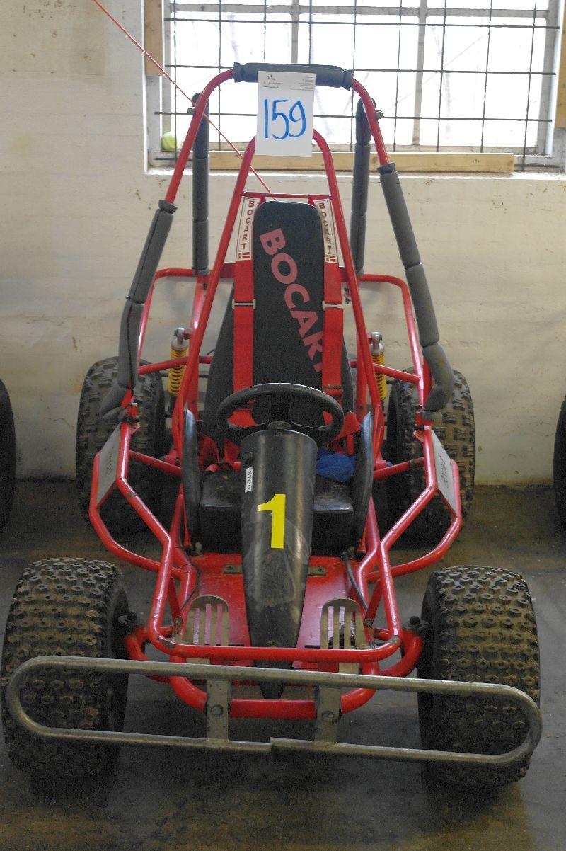 Bocart with Honda GX270 engine, 9 HP - KJ Auktion - Machine
