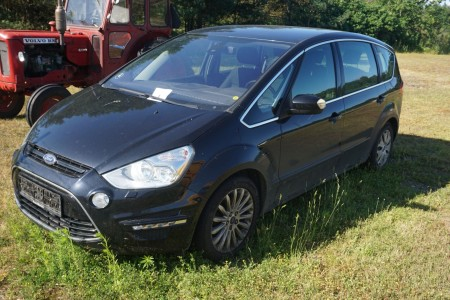 Ford S-MAX, 2,0 TDCI. Gear: Automat. Inregistreret: 30. september 2011. Kilometerantal: 273.000km. Diesel. Stelnummer: WF0SXXGBWSBJ68205 bilen sælges for nykredit bilen sælges ubehæftet.