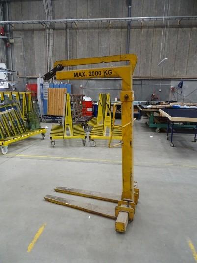 Palle løfteåg for kran godkendt til 2020 max 2000 kg.