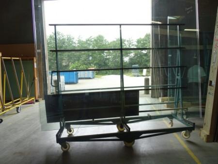 Rude Panser glas bestående af 4 ruder limet bredde 2183x2531 cm tykkelse 27 mm