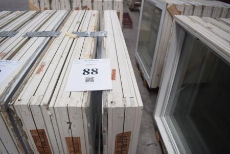 3 Fenster, B: 119 cm, H: 116 cm
