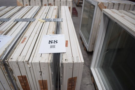 3 stk vinduer,b:119 cm, h:116 cm
