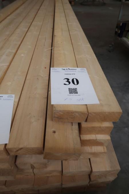 72 meter tømmer 48x100 mm, længde 480 cm