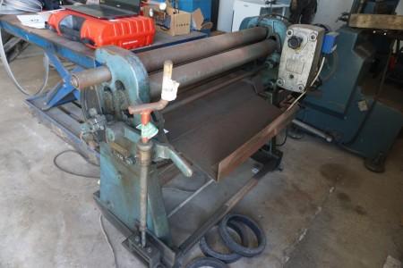 Roller width 102 cm 0.75 KW brand SNT