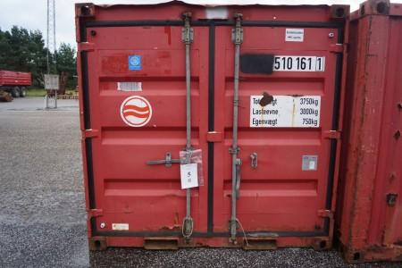 Materiale container, last 3000kg, udvendige mål: 1420mmx2240mmx2160mm