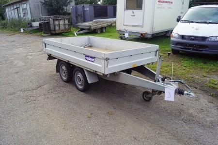 Variant Boogie trailer reg nr AX1216 Total 1300 kg