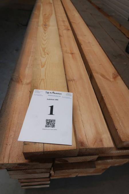48 Meter Holz 50x150 mm, Länge 480 cm