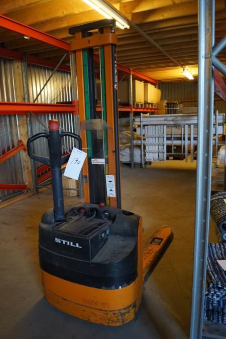 Still Elpalleløfter EGV 12 årgang 2001 nyt batteri for 3 år siden. Kan løfte I 3 meter.