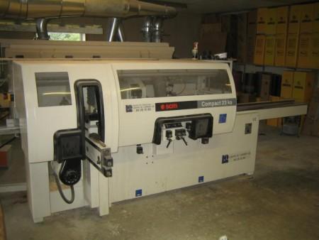 Kehlermaskine SCM Compact 23KS årgang 2001 med 5 spindler