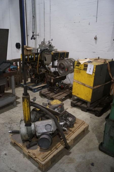 2 STK Esab LAE 800 2 stk ruller.