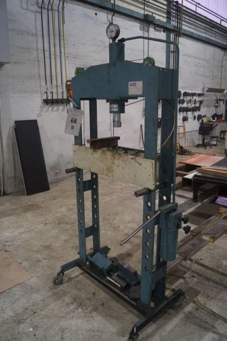 Værkstedspresse 30 tons mærke KIMM type 319