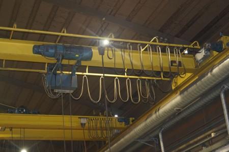 Demag Traverskran med stativ  12 meter 3200 kg.