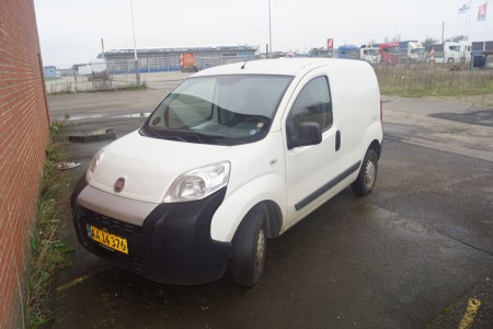 Fiat Fiorino AA14376 reg no km: 219.157, YEAR: 2008, NEXT SYN18. September 2020