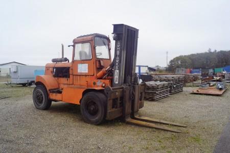 12 tons truck Diesel Svensk.