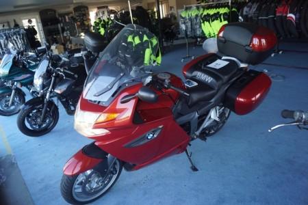 BMW k1300 GT motorcykel med garmin gps - kilometer 35160.