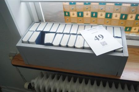 25 stk. Folkehøjskolens sangbog + 3 stk. blokfløjter.