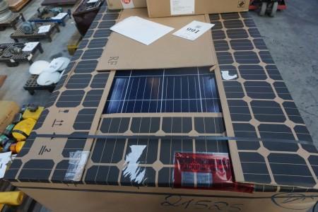 Nyt 6 kw solcelleanlæg komplet med montagesystem. Indeholder: 20 stk Tyske Astronergy 275wp solceller, 1 stk 6 kw Delta inverter, K 2 montagesystem.