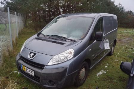 Peugeot Expert 2,0 HDI Reg nr FH95477 km 191936 Har været startet hos Kj Fra dødsbo
