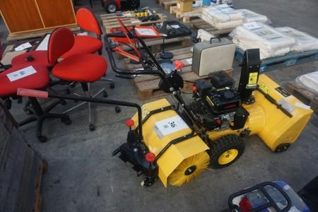 Kombi maskine med sneslynge og kost, 163 cc Loncin motor ubrugt