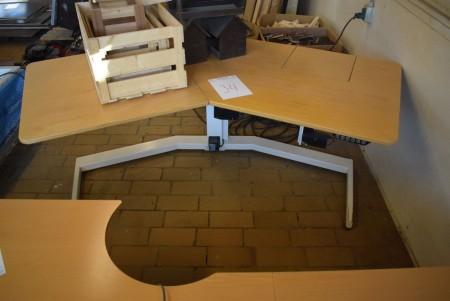 El hævesinkebord, afprøvet og ok