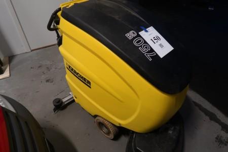 Bodenreiniger Kärcher BD750, Getestet und funktioniert.