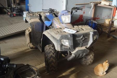 Kuzuma Hunter 250 cc ATV. Mangler batteri.