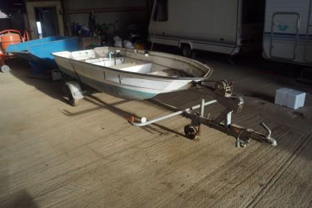 Limbo 12 f med Yamaha Bådmotor 10 hp