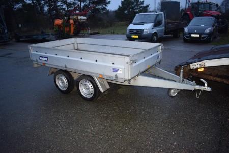 VARIANT TRAILER. Regnr: CU 51 20, 750 kg Fra konkursboet Øster Hassing tømrer og Snedker.