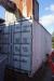 Spånsugningsanlæg med 20 fods container + rørføring til bygning. + har produceret sug til 8 maskiner på en afstand af 100 meter rør. 2,2 KW motor til videreføring af spån til 20 fods container.