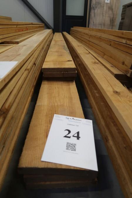27 meter brædder, 25x200 mm, længde: 3/420, 3/480 cm