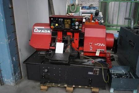 Båndsaveautomat Fabrikat: Amada, Type: HFA 250 W Maskin Nr: 25060230, Årgang: 1991