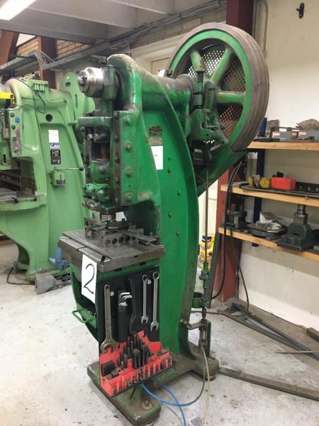 Eccentric press Manufacturer DPF Model KA 16- 180