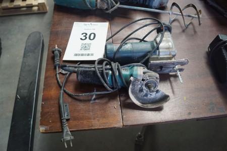 2 stk. elværktøj