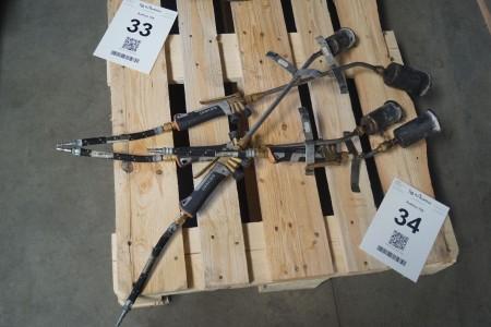 4 stk. ukrudtsbrænder, model: Sievert