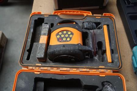Laser/nivelleringsapparat. Type FL250VA-N