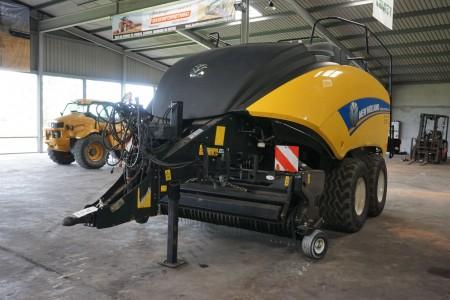 Bigballe presser, mærke: New Holland, model: Bigbaler 1290 plus cropcutter type: RL6. Stel nr: HAF43Y98C04149008